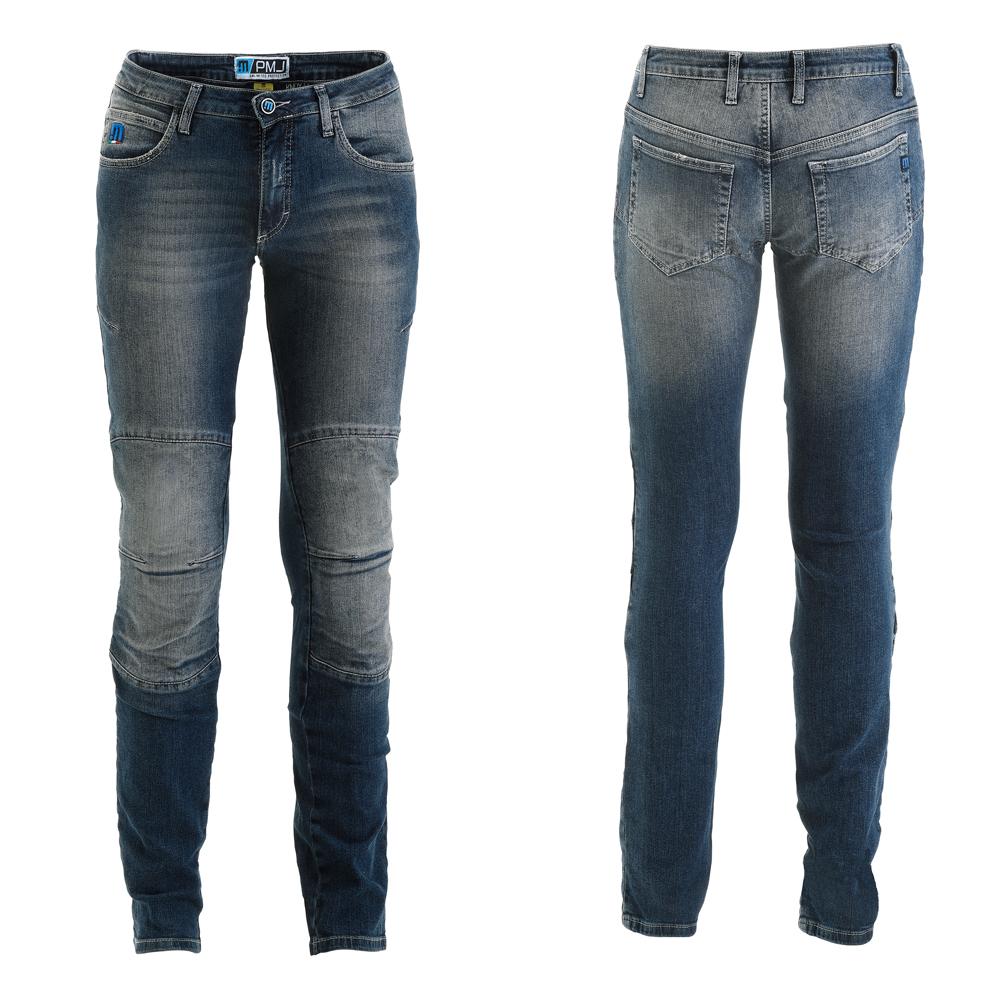 Dámske moto jeansy PMJ Florida MID
