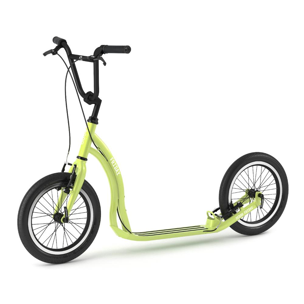 Kolobežka Yedoo Friday 2020 zelená - Záruka 5 rokov