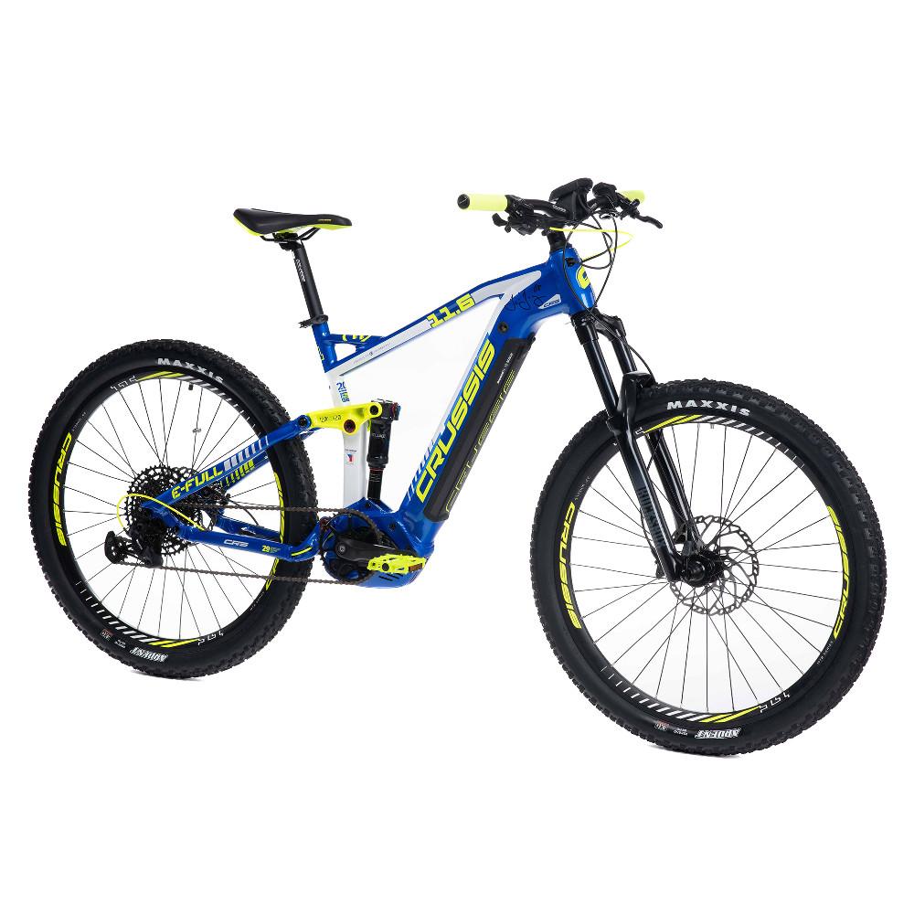 """Horský celoodpružený elektrobicykel Crussis e-Full 11.6 - model 2021 18"""" - Záruka 10 rokov"""