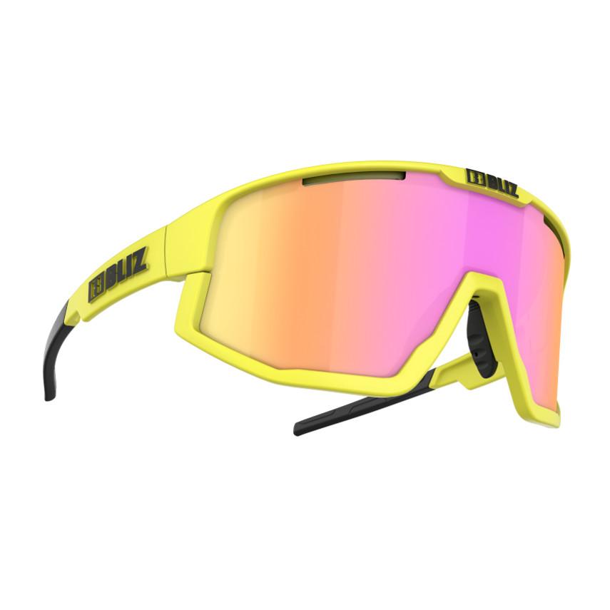 Športové slnečné okuliare Bliz Fusion 2021 Matt Neon Yellow