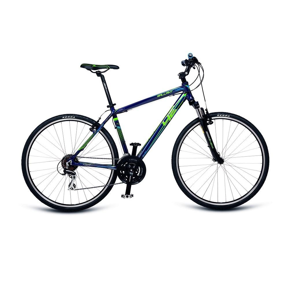 """Pánsky crossový bicykel 4EVER Gallant 28"""" - model 2018 modro-zelená - 19"""" - Záruka 10 rokov"""