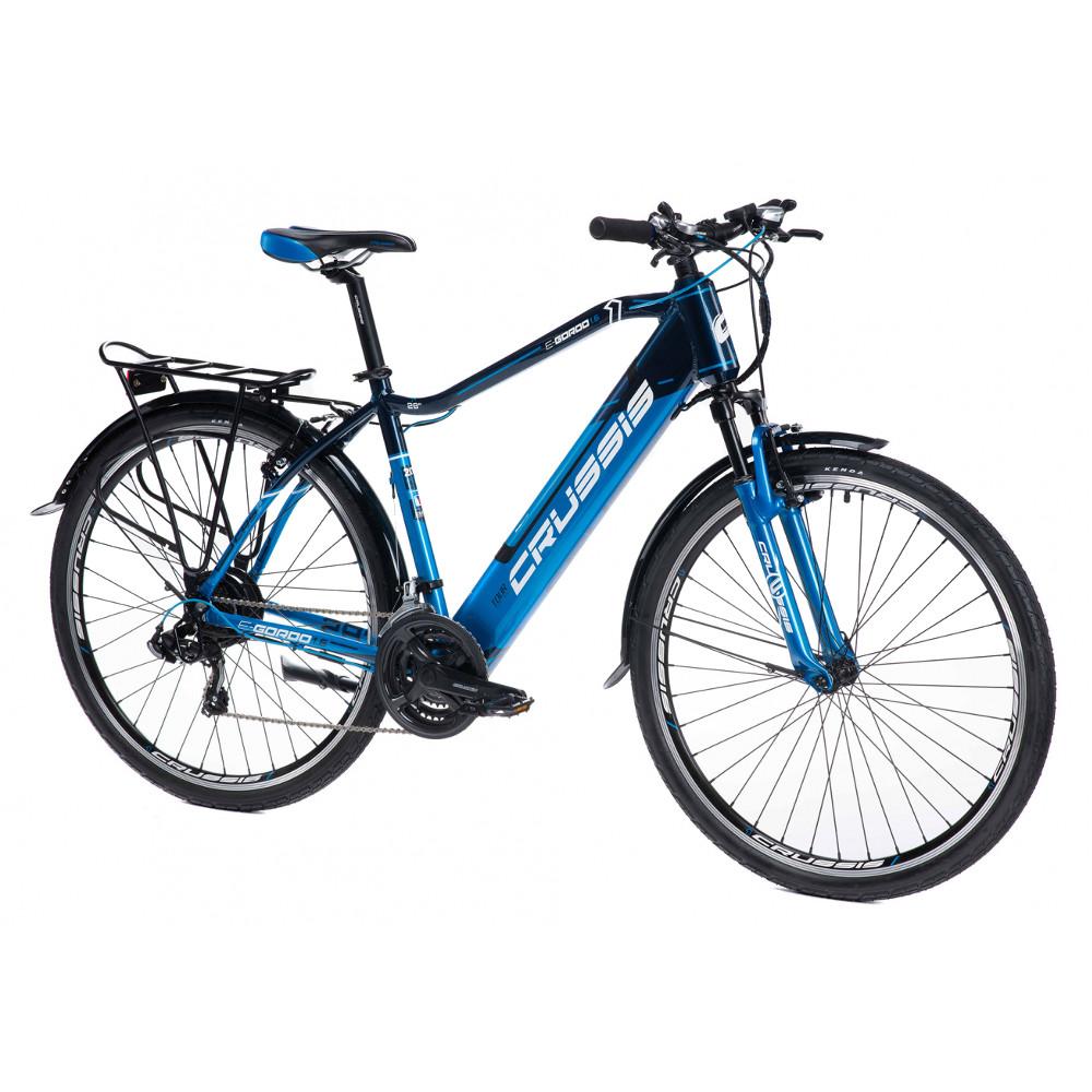 """Pánsky trekingový elektrobicykel Crussis e-Gordo 1.6 - model 2021 18"""" - Záruka 10 rokov"""