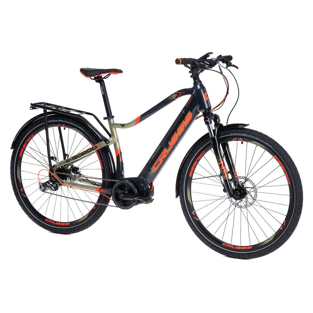 """Pánsky trekový elektrobicykel Crussis e-Gordo 7.6 - model 2021 18"""" - Záruka 10 rokov"""