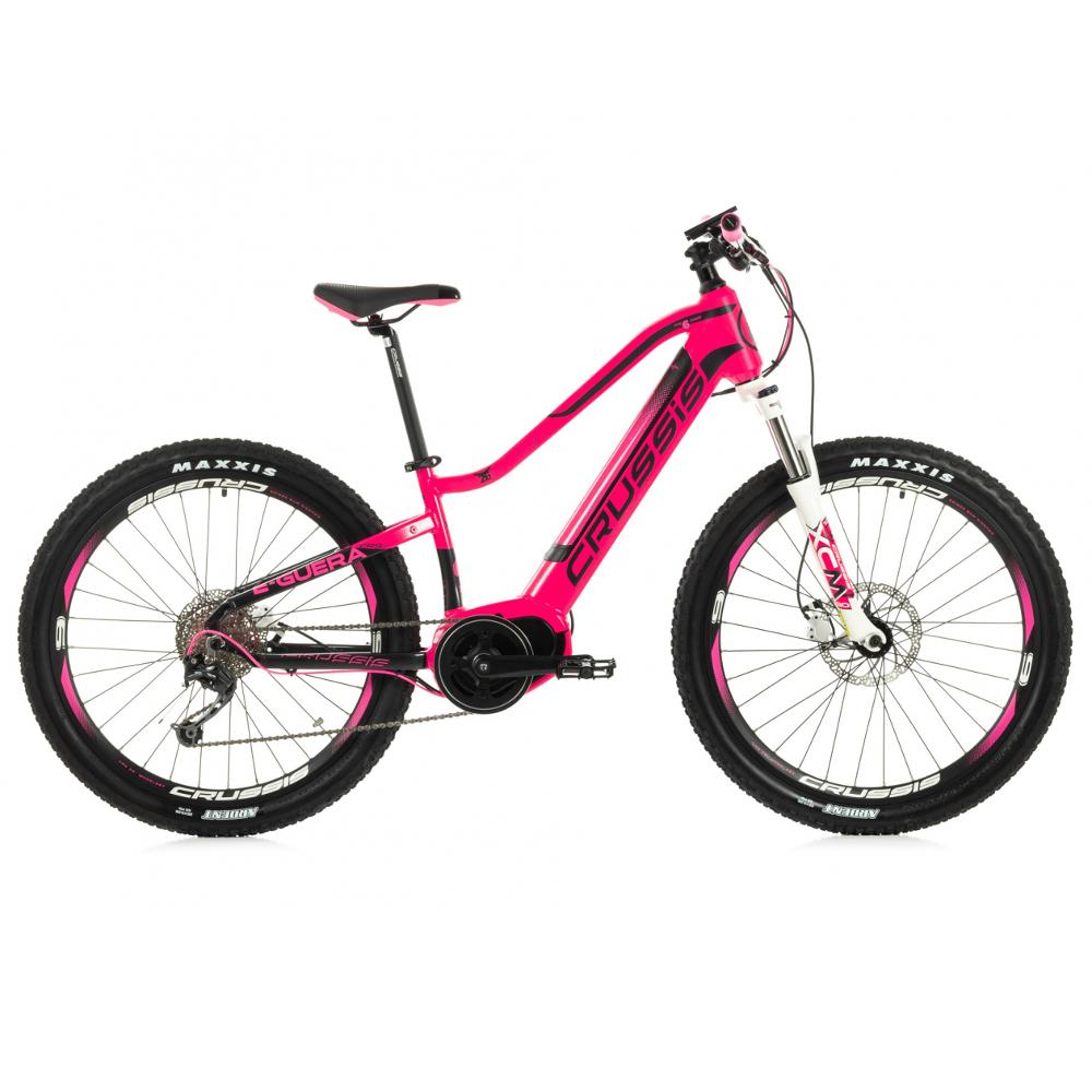 Dievčenský juniorský horský elektrobicykel Crussis e-Guera 6.5 - Model 2020 - Záruka 10 rokov