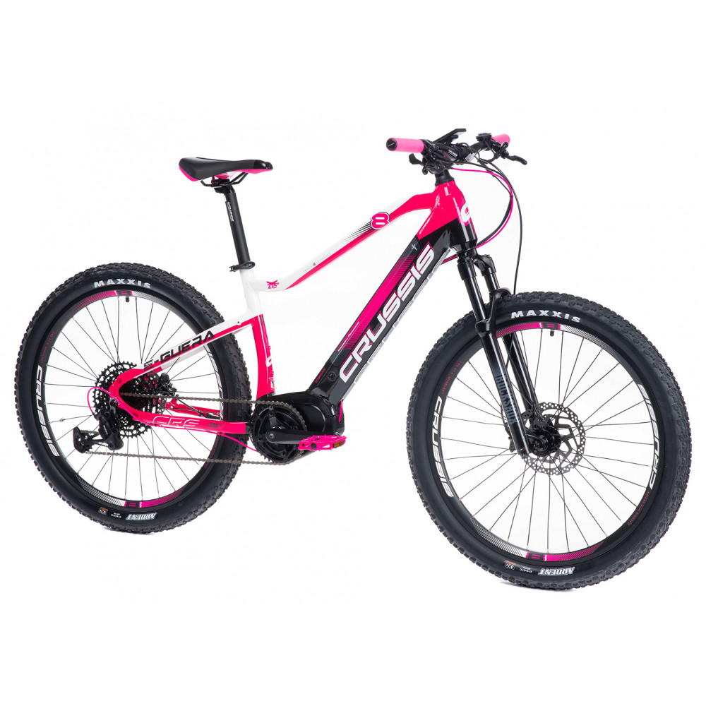 """Dámsky horský elektrobicykel Crussis e-Guera 8.6-M - model 2021 17"""" - Záruka 10 rokov"""