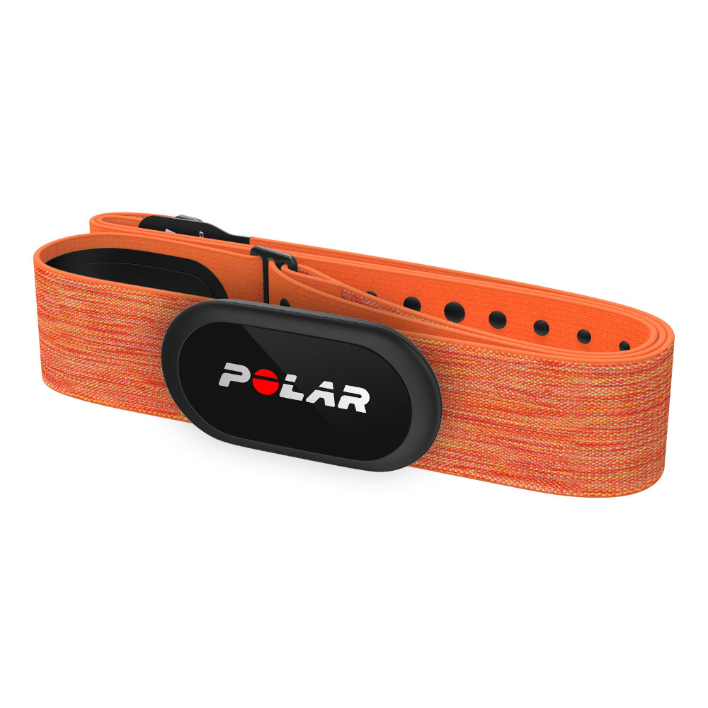 Hrudný pás Polar H10+ oranžová