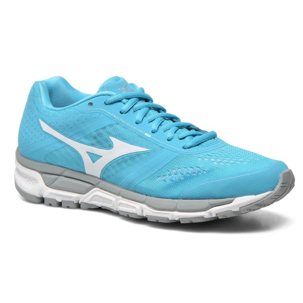 Dámske bežecké topánky MIZUNO Synchro MX BlueAtoll/White/Silver - 38,5