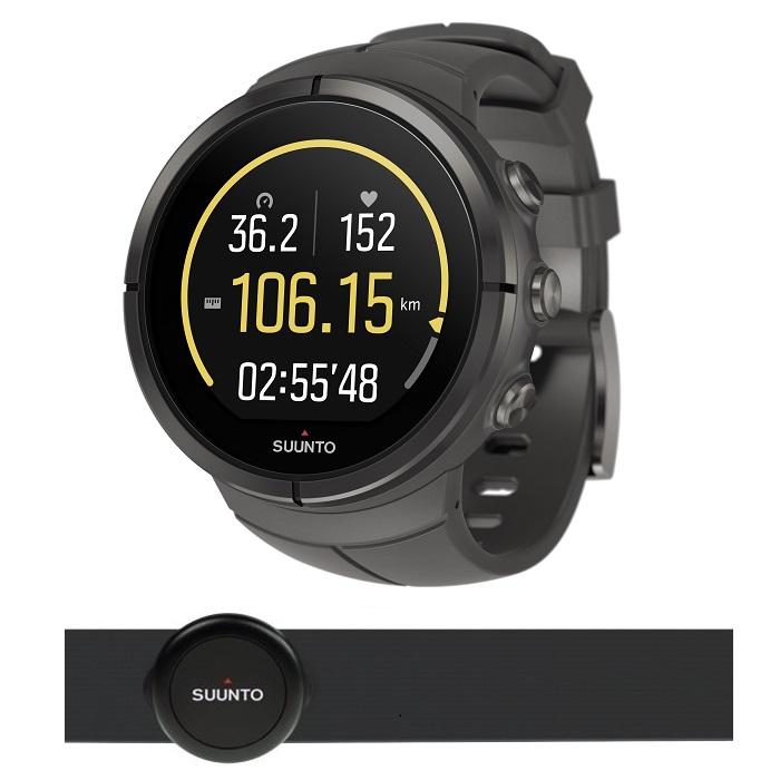 Športové hodinky SUUNTO Spartan Ultra Titanium Stealth HR