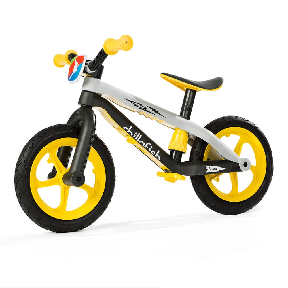 Detské odrážadlo Chillafish BMXie-RS žltá