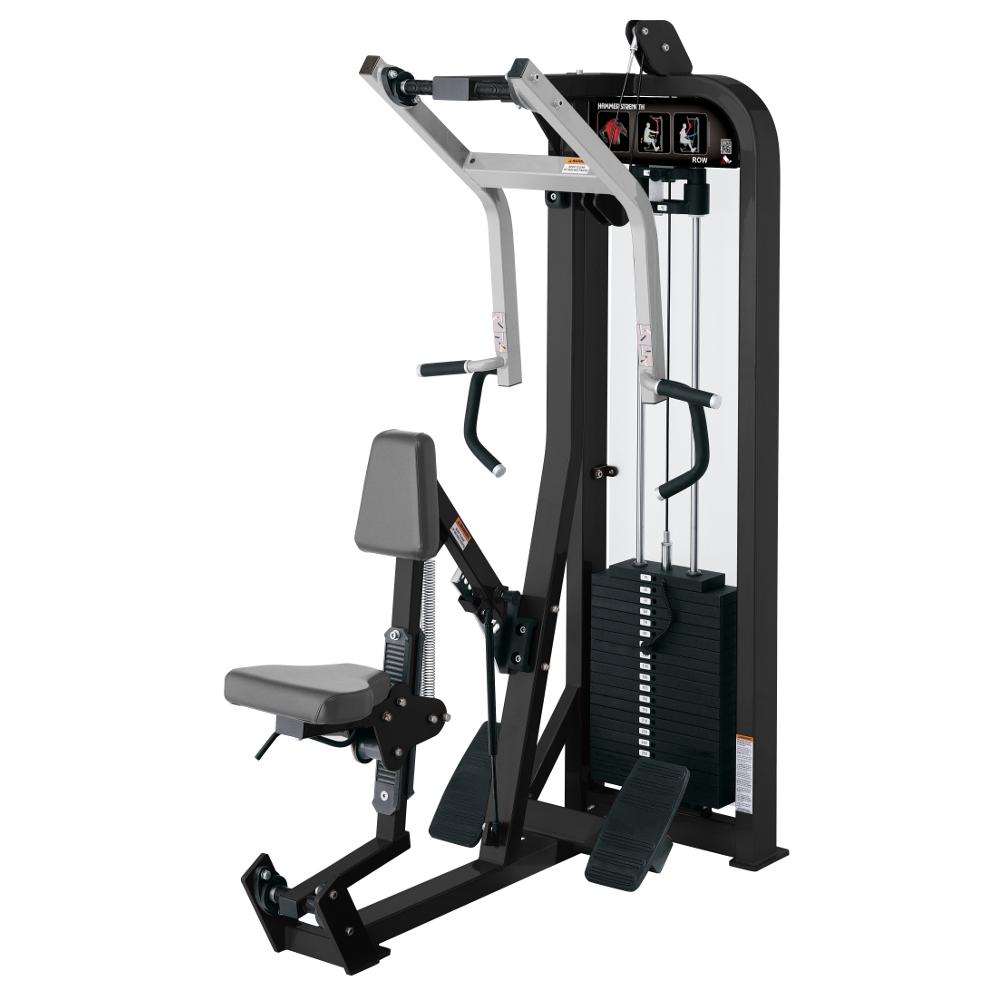 Posilňovací stroj na chrbtové svaly Hammer Strength Select Seated Row - Montáž zadarmo + Servis u zákazníka
