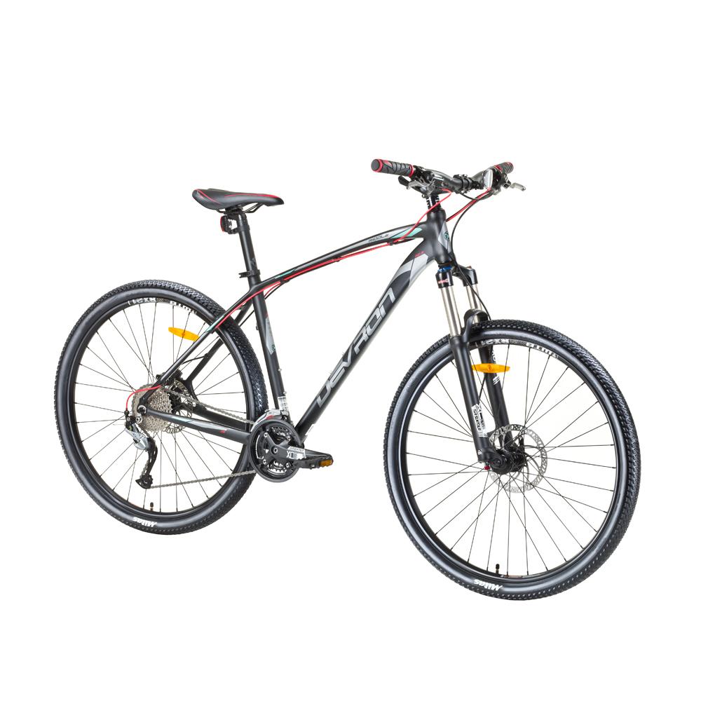 "Horský bicykel Devron Riddle H0.7 27,5"" - model 2017 Evil Black - 16,5"" - Záruka 10 rokov"