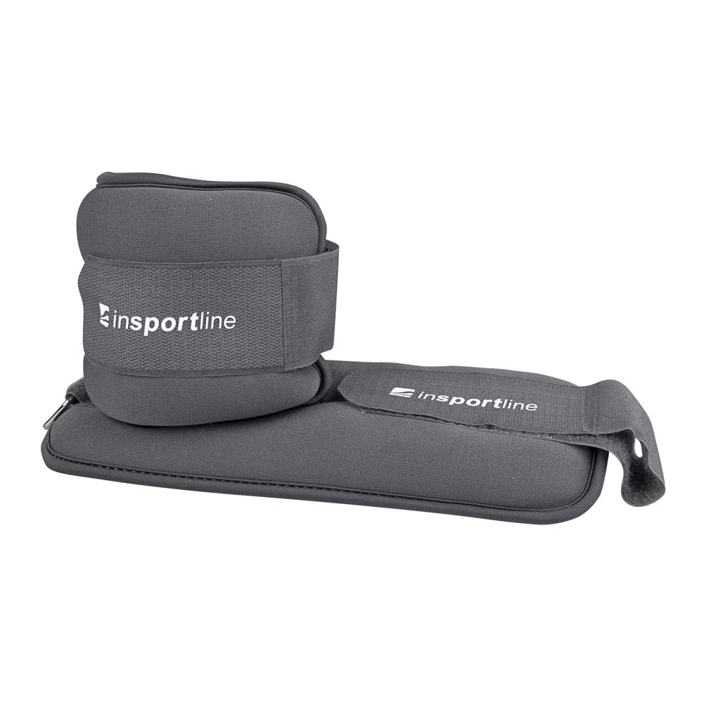 Neoprénové závažie na členok/zápästie inSPORTline Lastry 2x2 kg
