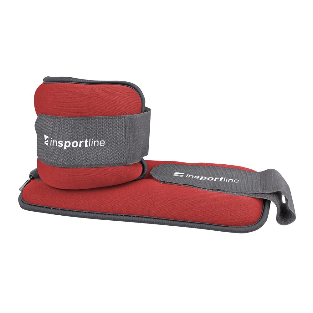 Neoprenové závažie na členok/zápästie inSPORTline Lastry 2x0,5 kg