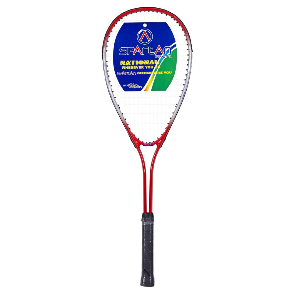 Squashová raketa Spartan Alu červená
