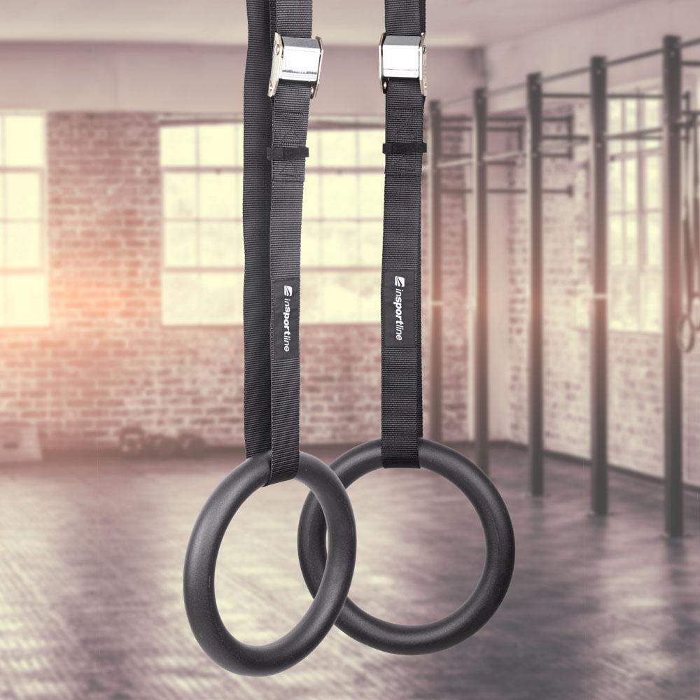 Kovové gymnastické kruhy inSPORTline Ringo