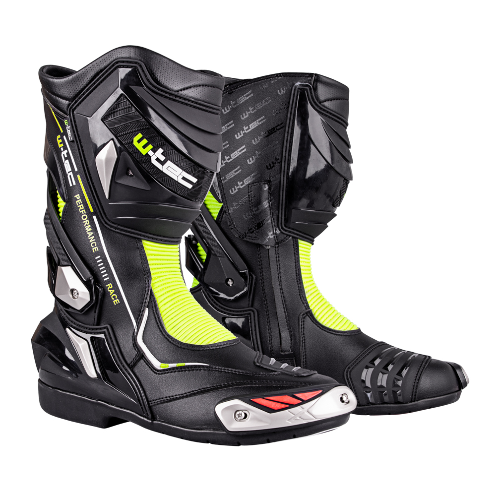 1272c24a18 Moto topánky W-TEC Beastor čierno-zelená - 40