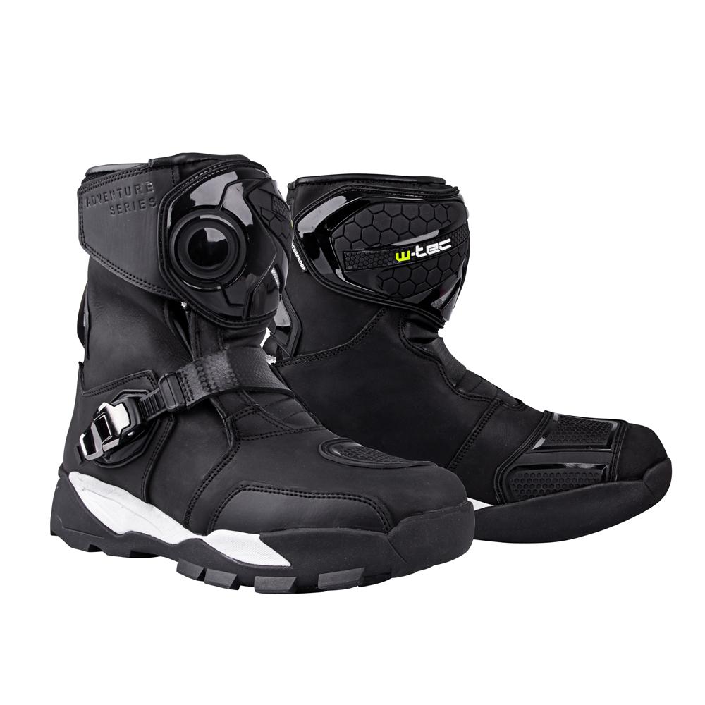 Moto topánky W-TEC Grimster čierna - 48