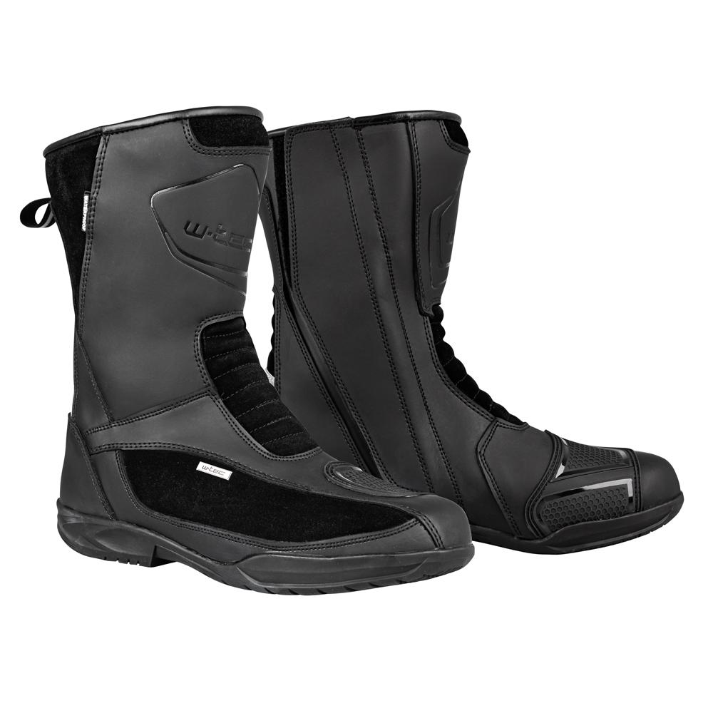 Moto topánky W-TEC Glosso čierna - 39