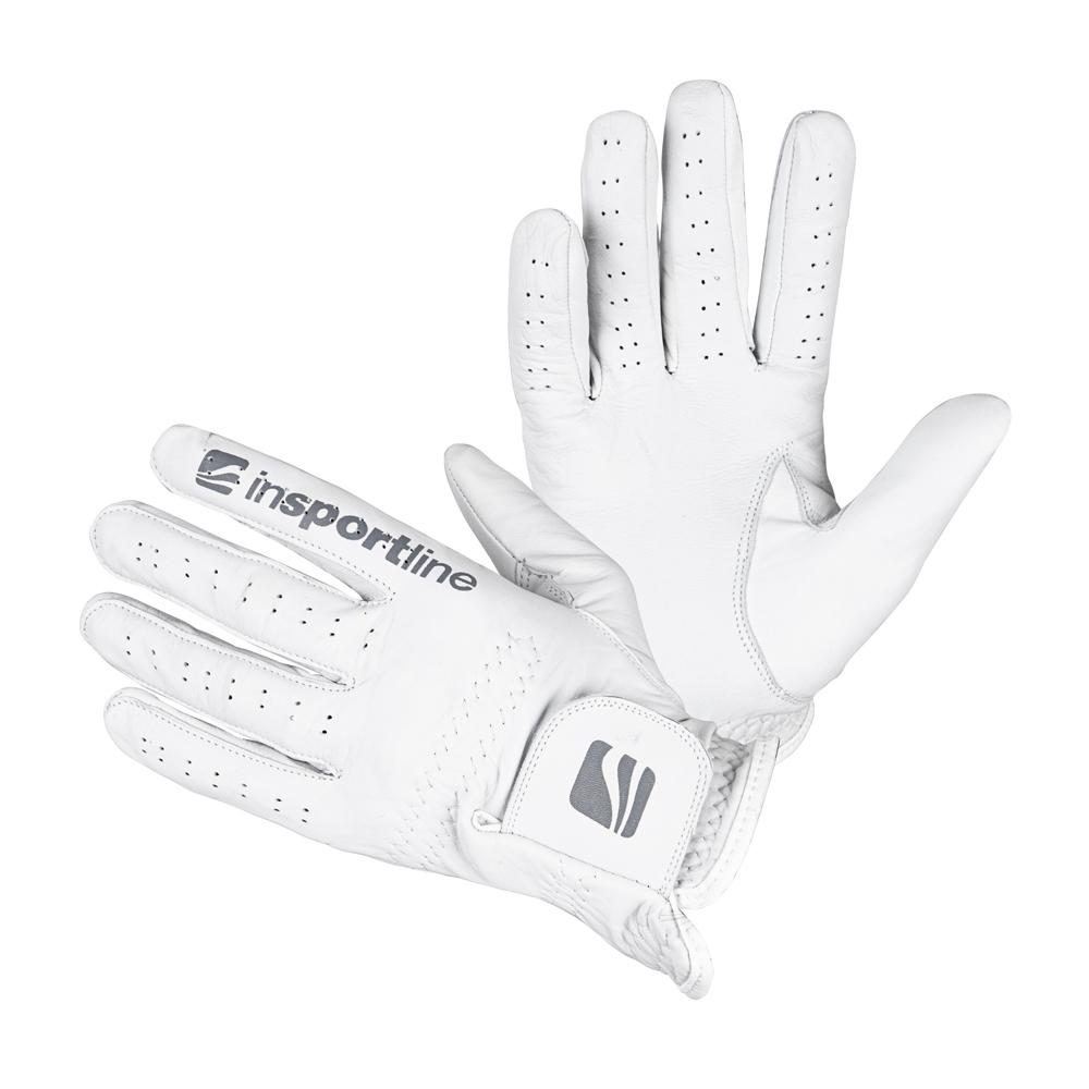 Dámske kožené rukavice inSPORTline Elmgreen Lady