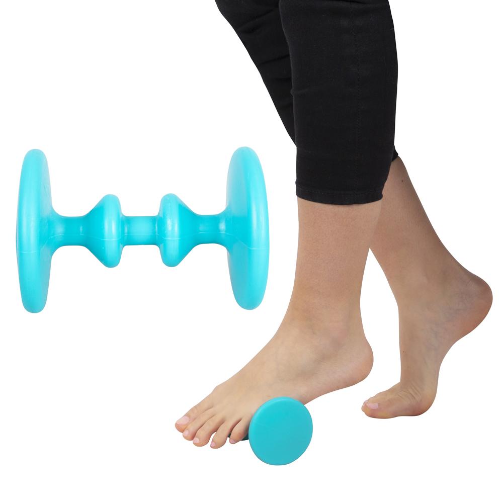 Masážna pomôcka na chodidlá inSPORTline Emms modrá