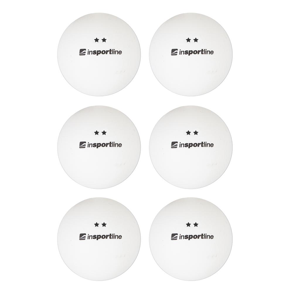 Pingpongové loptičky inSPORTline Elisenda S2 6ks