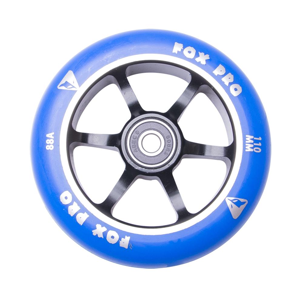 Náhradné koliesko pre kolobežku FOX PRO Raw 110 mm modro-čierna II