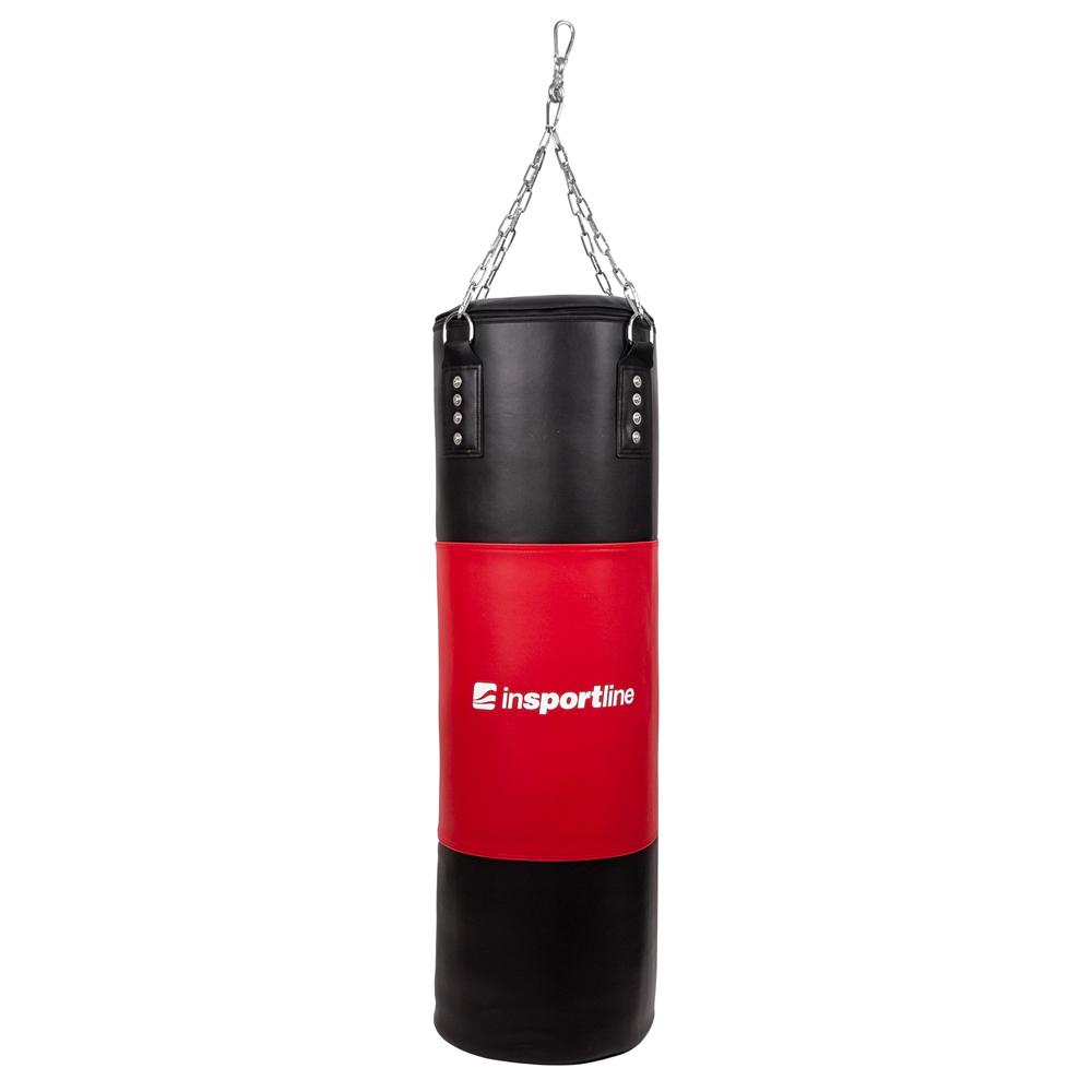 Plniace boxovacie vrece inSPORTline 40-80 kg čierno-červená