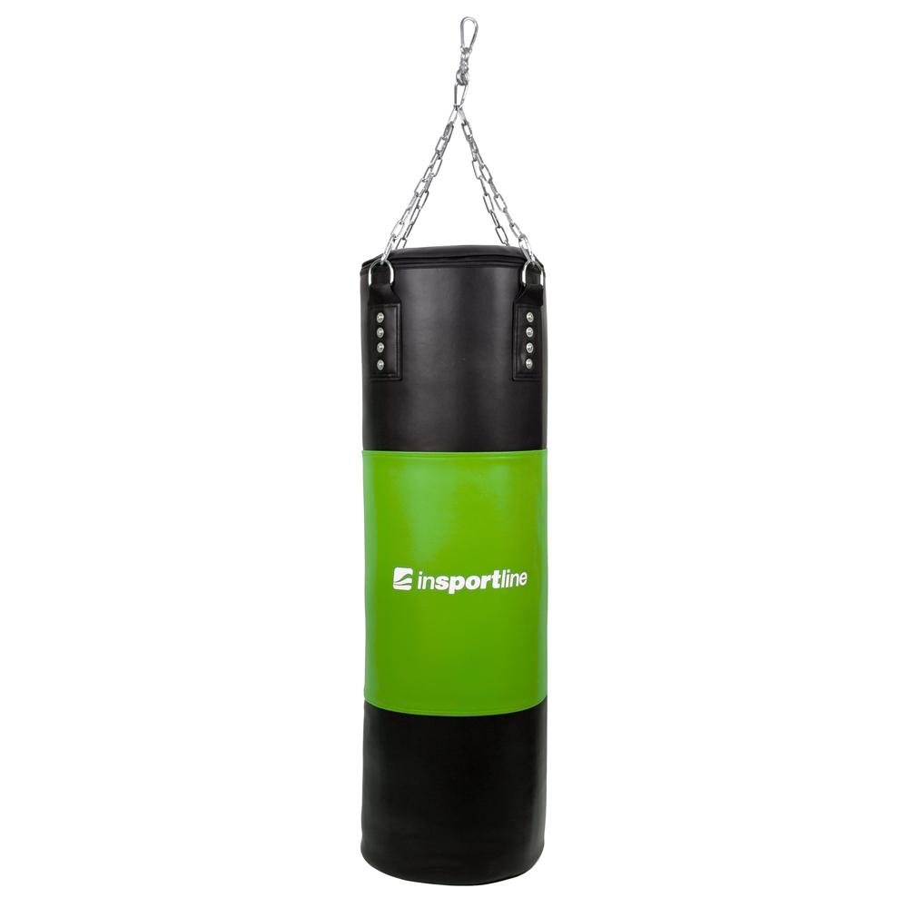 Plniace boxovacie vrece inSPORTline 40-80 kg čierno-zelená