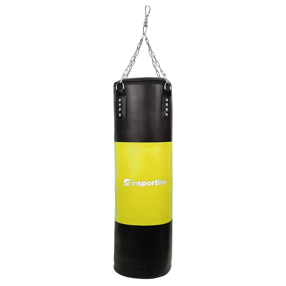 Plniace boxovacie vrece inSPORTline 50-100 kg čierno-žltá