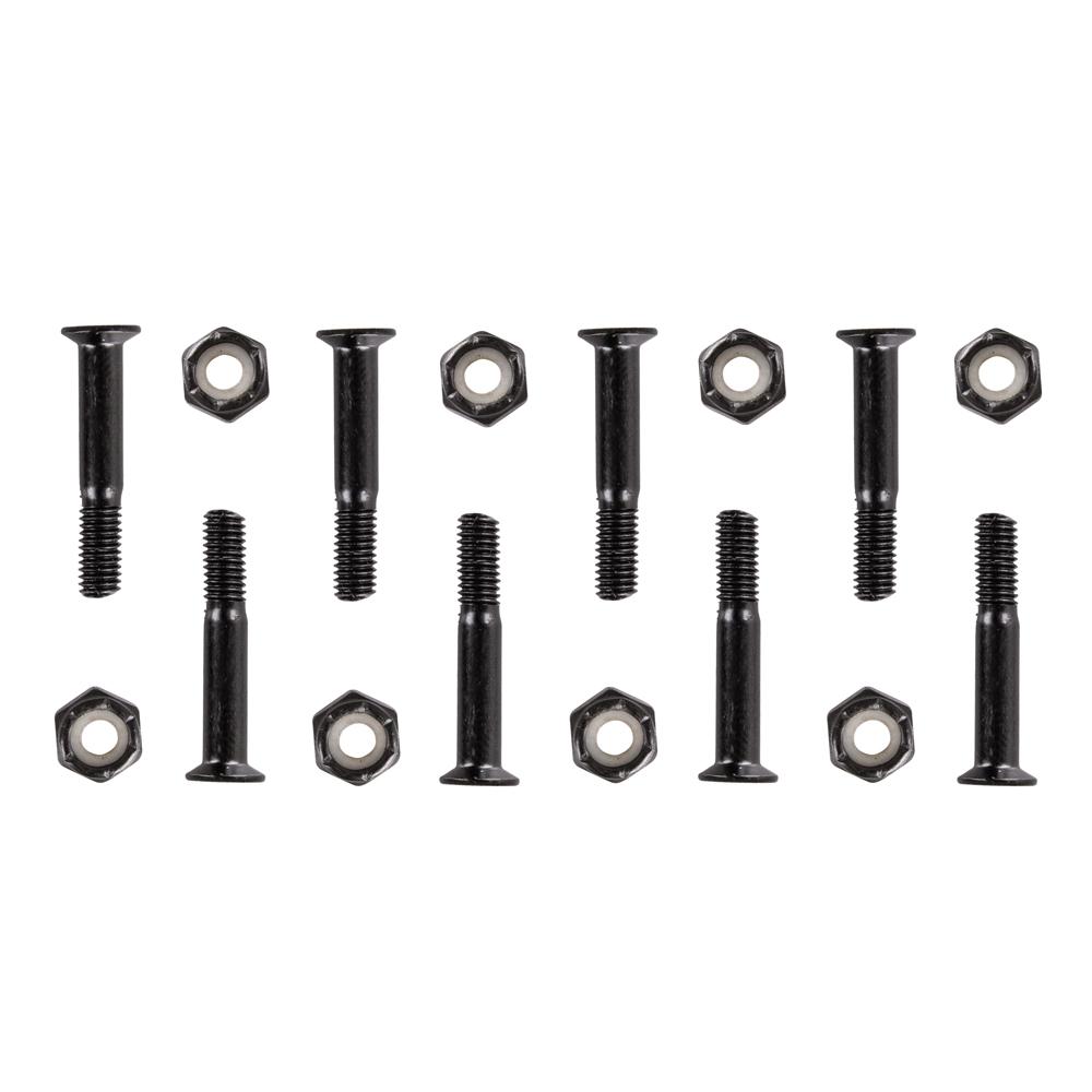 Podvozkové skrutky 5x28 mm čierna