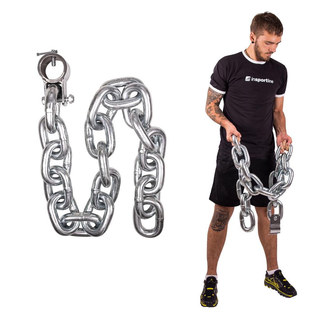 Vzpieračská reťaz inSPORTline Chainbos 20 kg