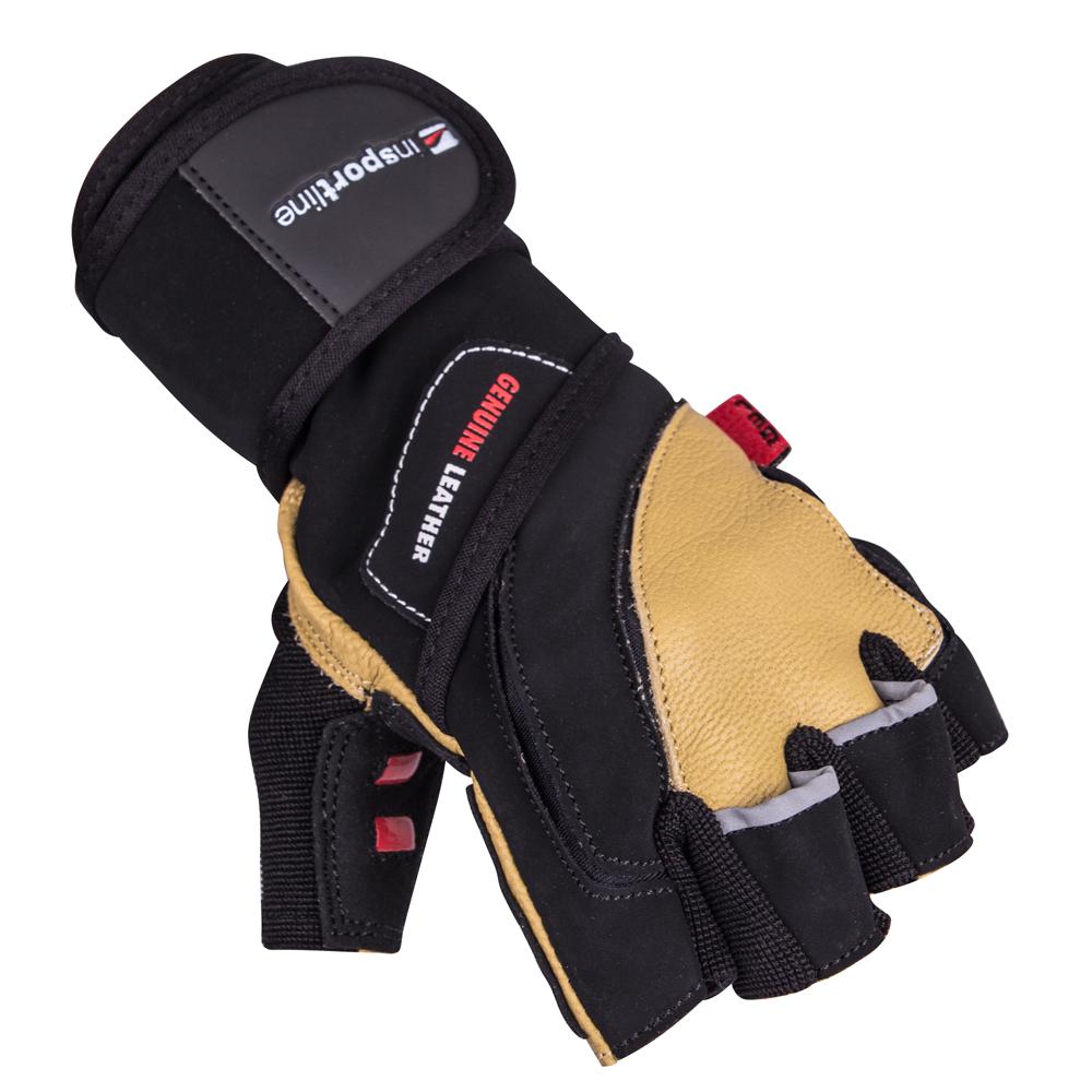 Kožené fitness rukavice inSPORTline Trituro