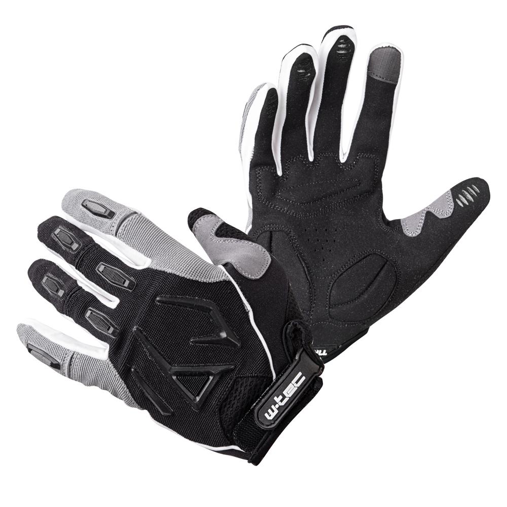 Motokrosové rukavice W-TEC Atmello čierna - M