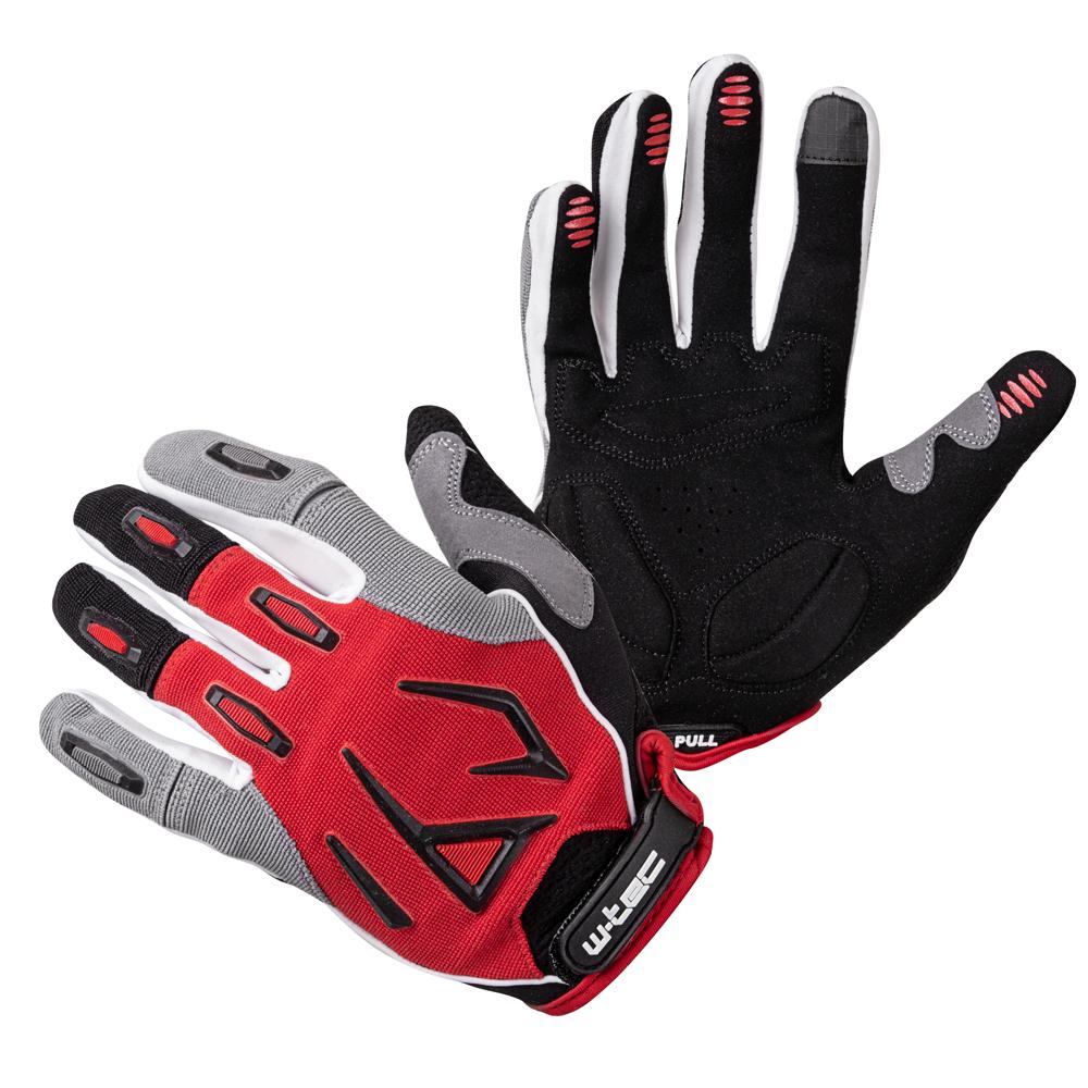 Motokrosové rukavice W-TEC Atmello červená - M