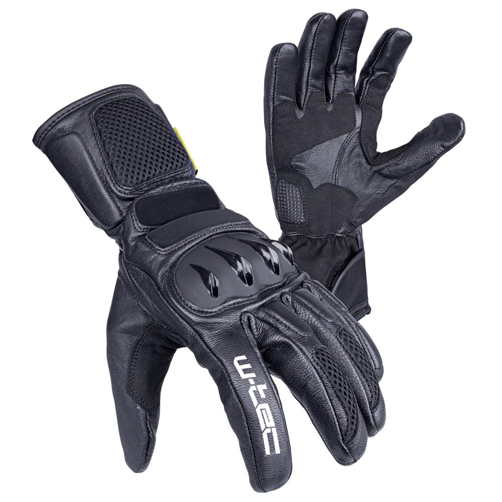 Moto rukavice W-TEC Talhof čierna - S