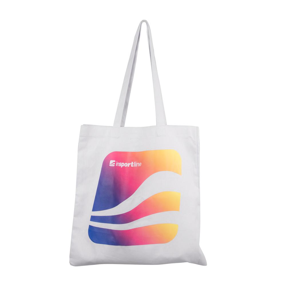 Plátenná taška inSPORTline Toloren biela