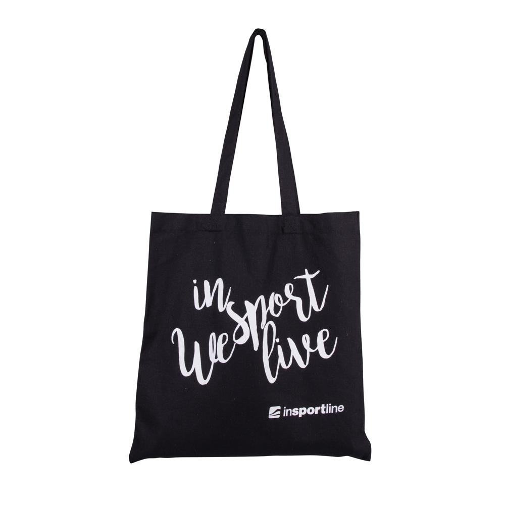 Plátenná taška inSPORTline Sportsa čierna