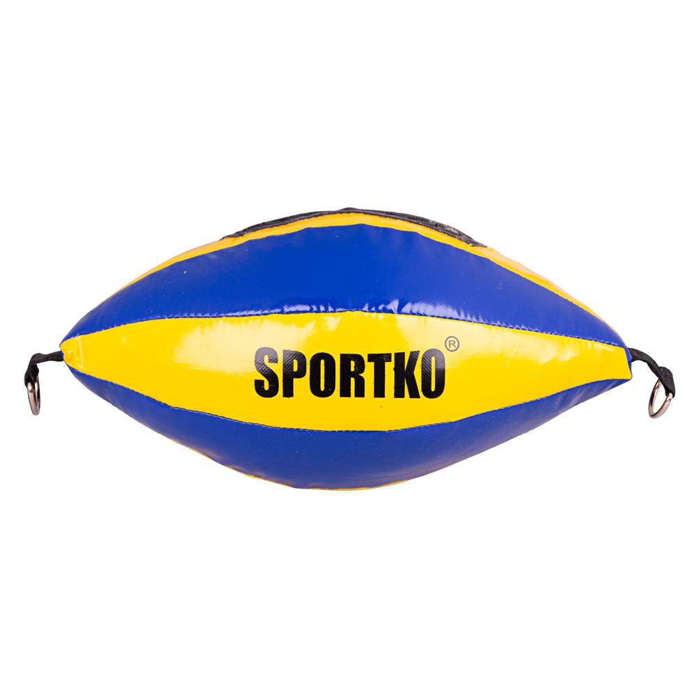 Boxovacie vrece SportKO GP2 žlto-modrá