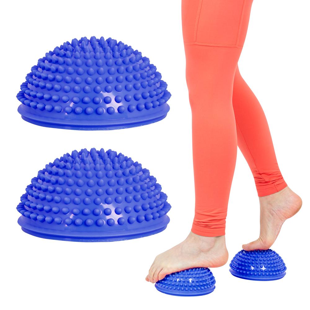 Balančná a masážna podložka na chodidlá inSPORTline Uossia modrá