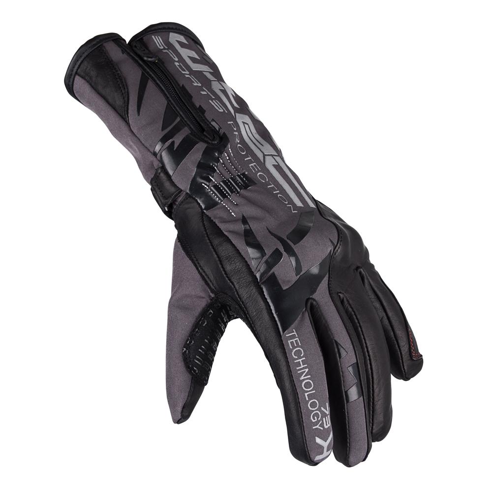 Moto rukavice W-TEC Kaltman čierno-šedá - XL