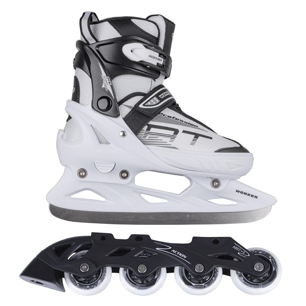 Nastaviteľné korčule 2v1 WORKER Patino PP