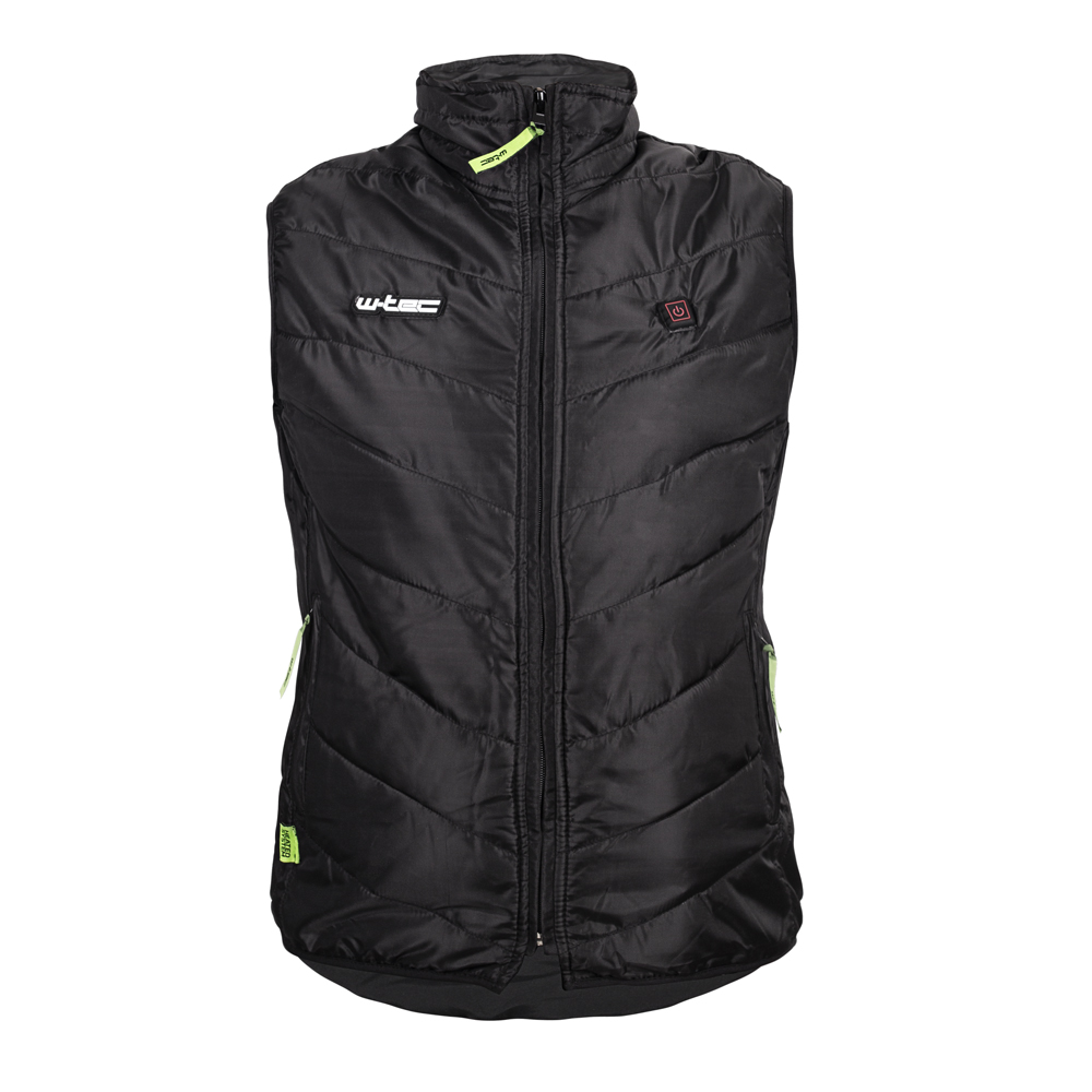 Dámska vyhrievaná vesta W-TEC HEATshe čierna - XL