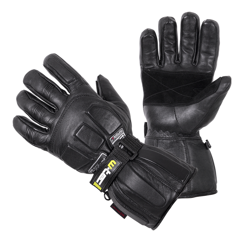 Moto rukavice W-TEC Freeze 190 čierna - 3XL