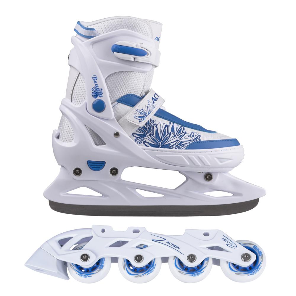 Nastaviteľné korčule 2v1 Action Frio PP