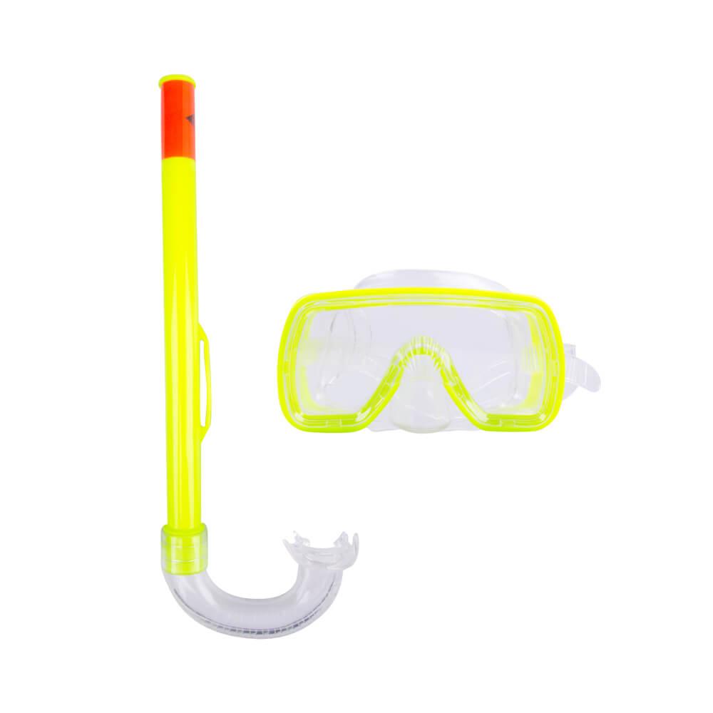 Sada na potápanie Escubia Fun Set JR žltá