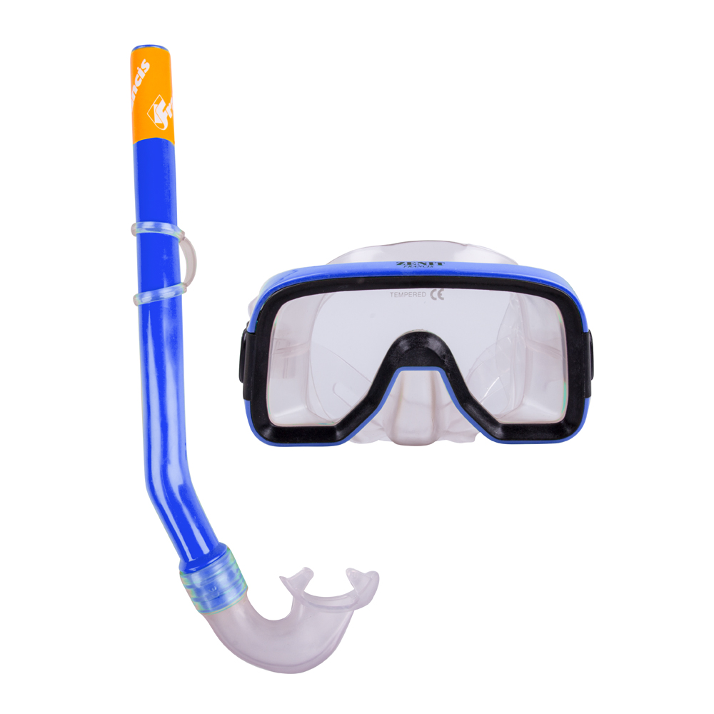 Sada na potápanie Francis Zenit Set SR modrá