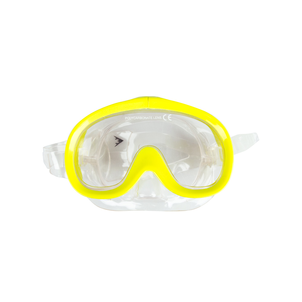 Potápačské okuliare Escubia Nemo JR žltá