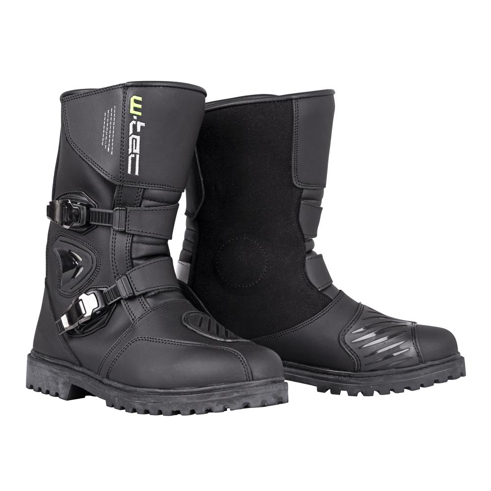 Moto topánky W-TEC Quartzo čierna - 40