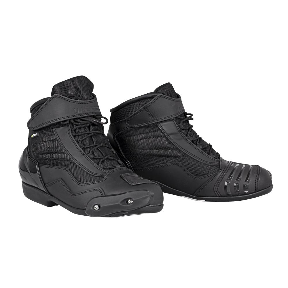 Moto topánky W-TEC Bolter čierna - 40