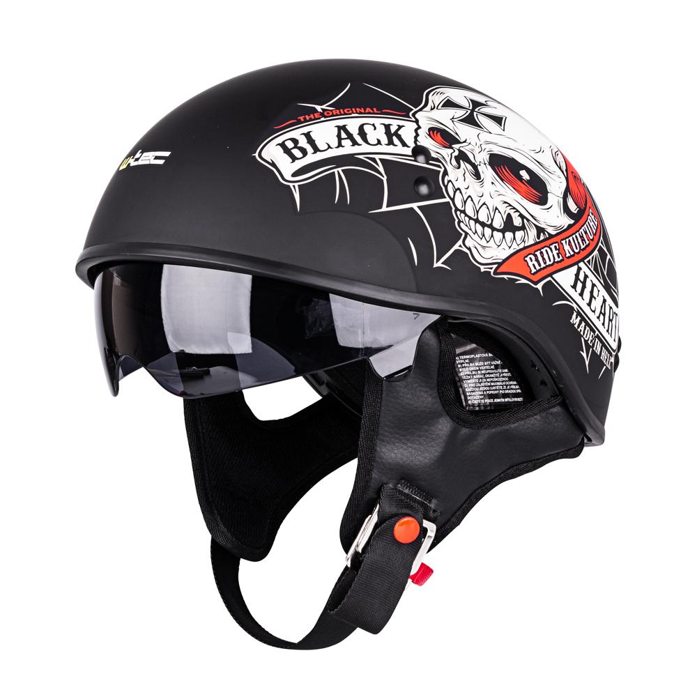 Moto prilba W-TEC V535 Black Heart